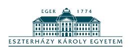 Eszterházy Károly Katolikus Egyetem Intézmény